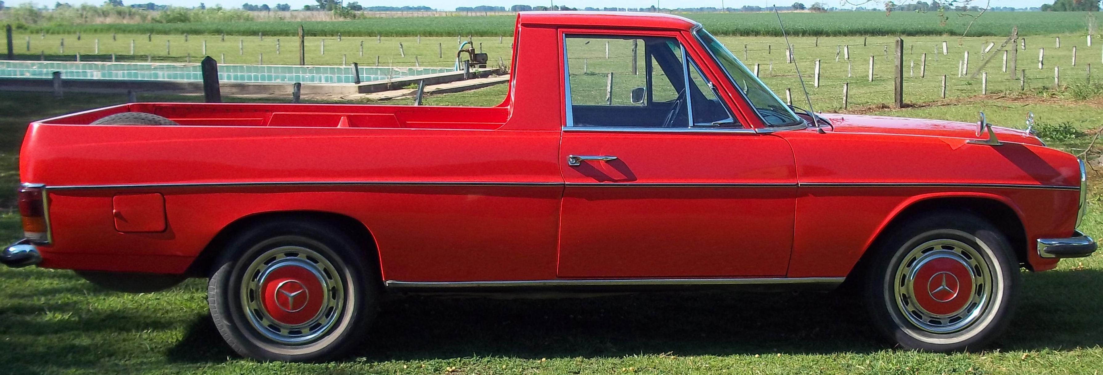 Pick Up Mercedes Benz 220d Modelo 1973 Original No Restaurada