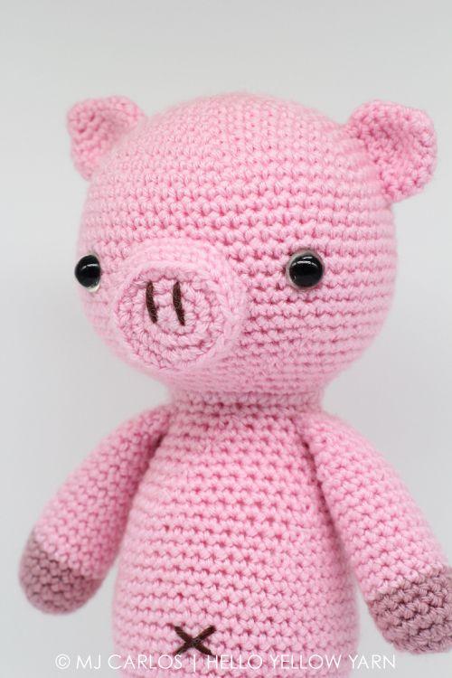 Amigurumi sweet pig free pattern | Amiguroom Toys | 750x500