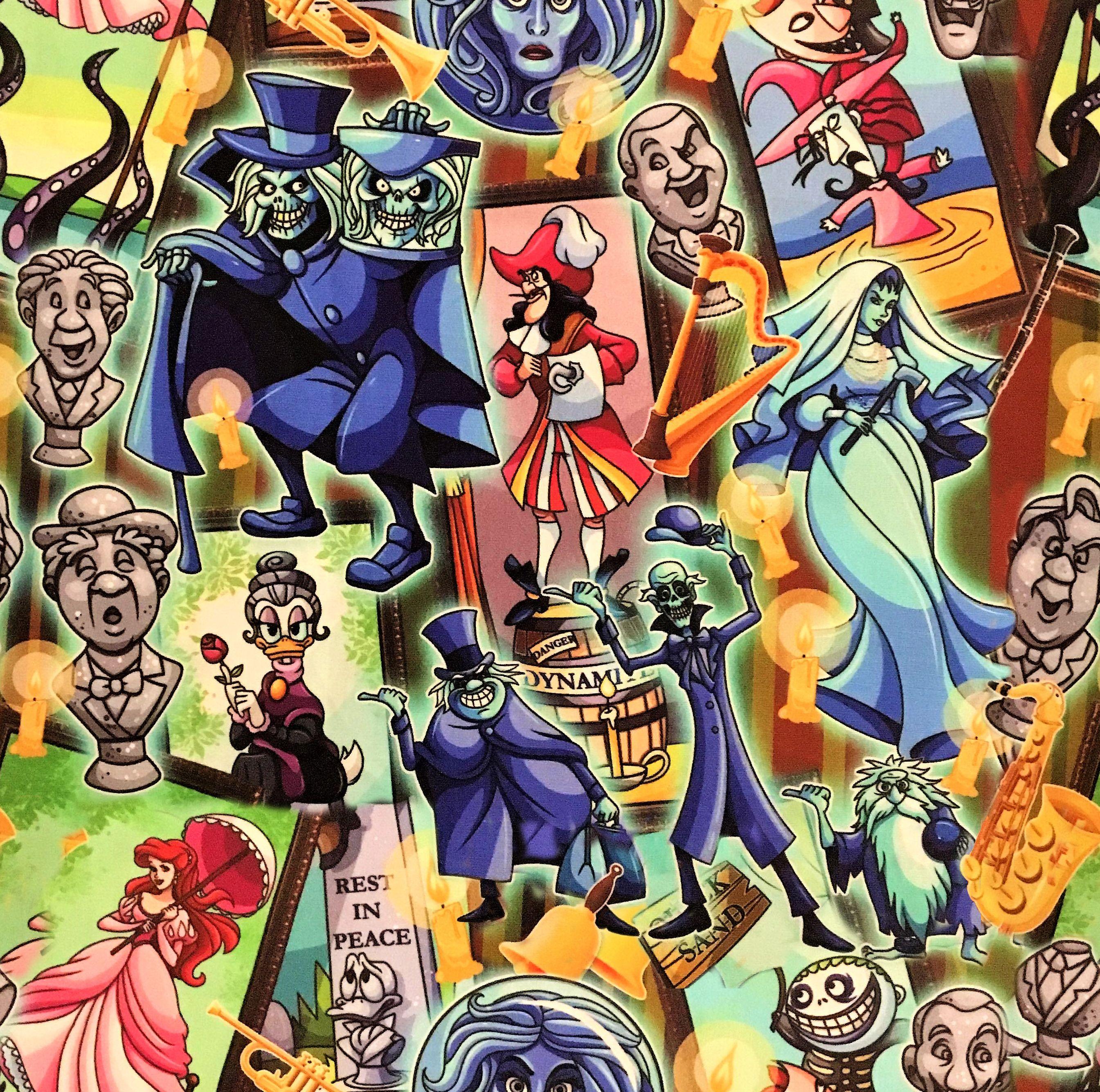 Disney Fabric Disney Wallpaper Disney wallpaper, Disney