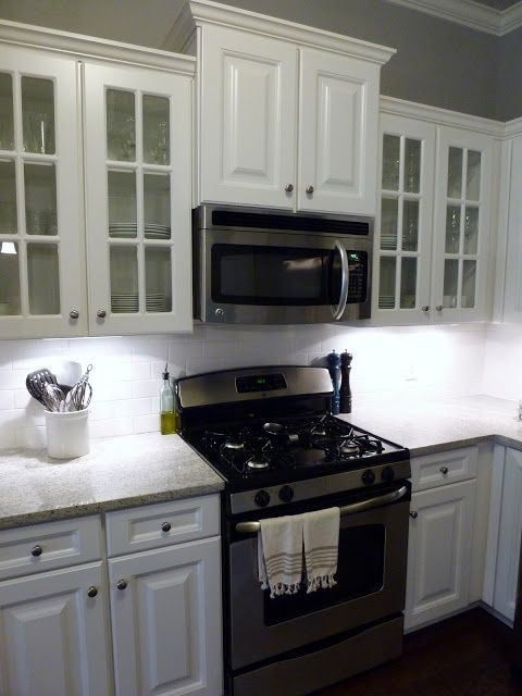above the stove microwave | house ideas | Pinterest