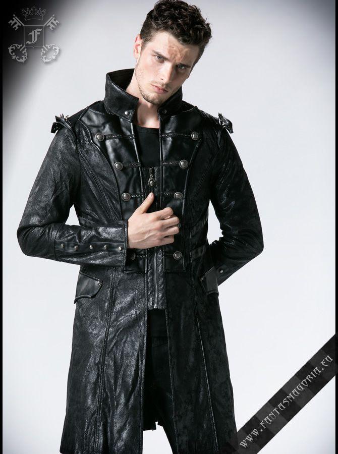 82fde7b8904b4 Half-length Steampunk men s coat (jacket). Code  Y-366