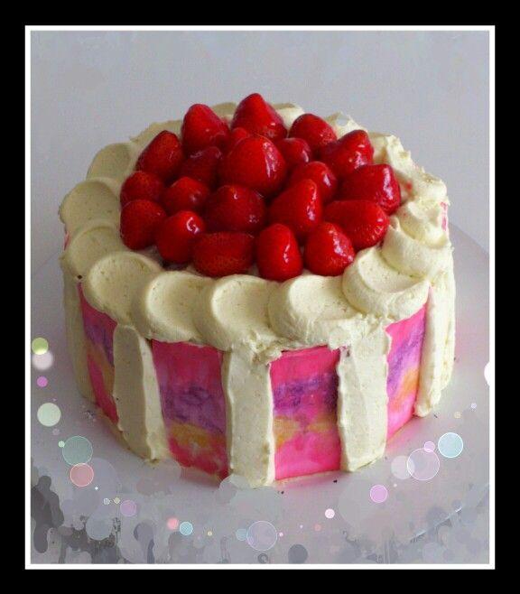 Primavera de fresas y chocolate blanco