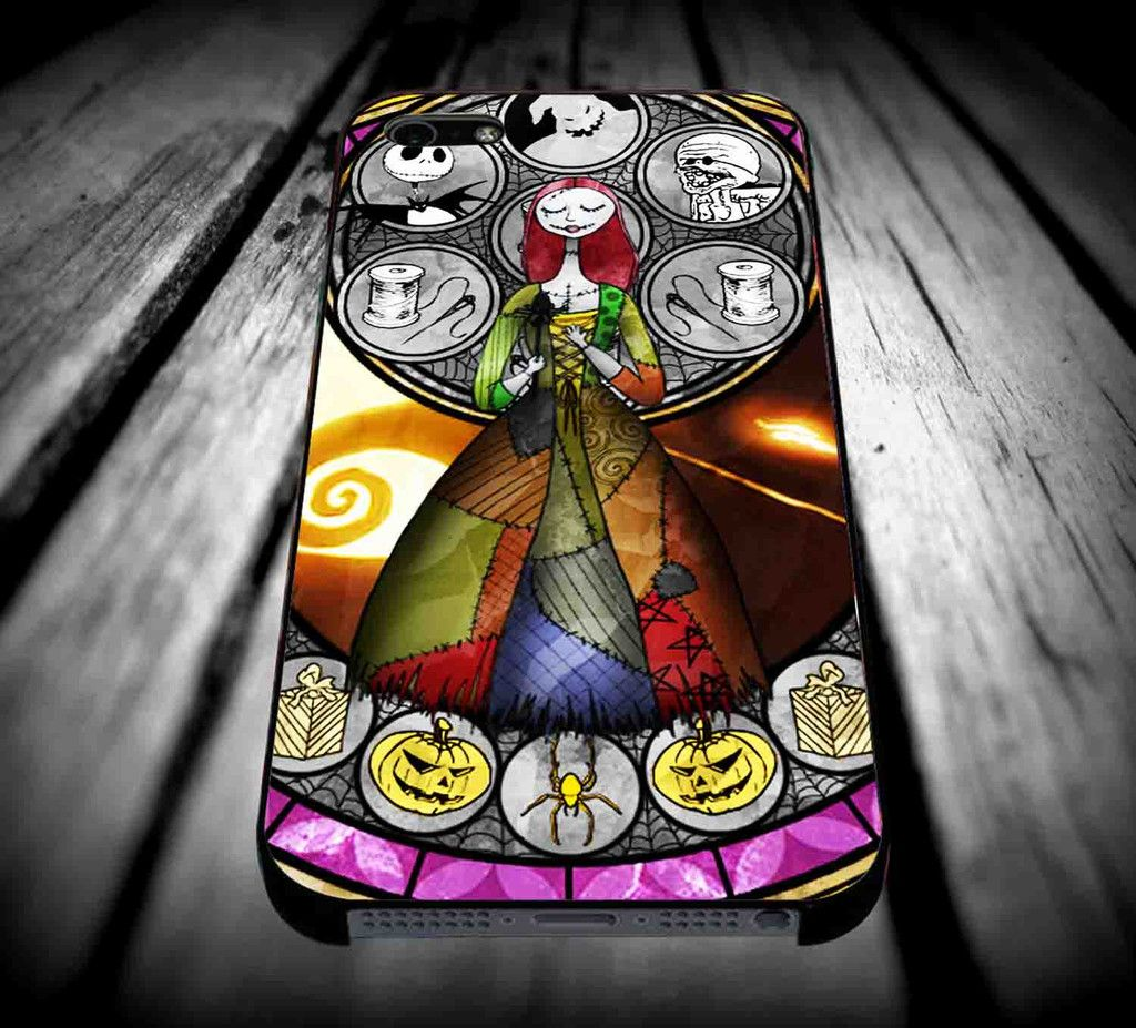 Sally Nightmare Before Christmas Stained Glass for iPhone 4/4s/5/5s ...