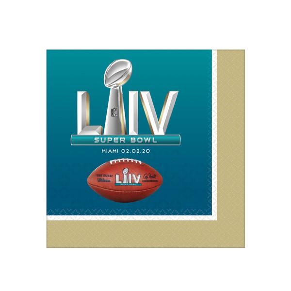 Super Bowl Liv Beverage Napkins In 2020 Super Bowl Beverage Napkins Super Bowl Sunday Party