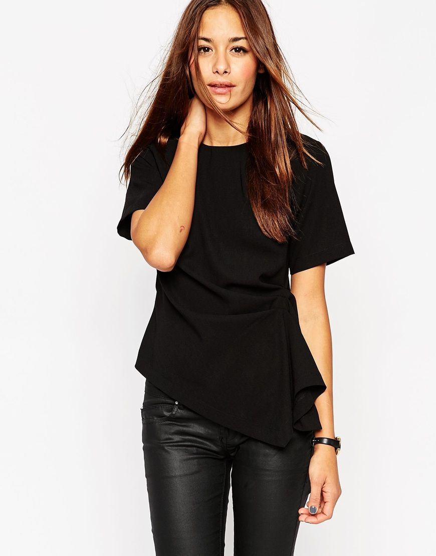 16a7ffa15c6 Image 1 of ASOS Origami Structured T-Shirt