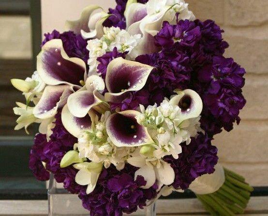 32 Trend Alert – Ideas for Purple Wedding Bouquets #purpleweddingflowers