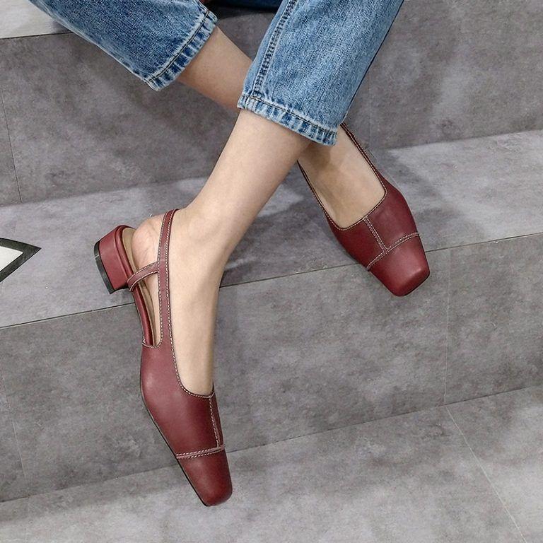 Chiko Tandy Pointed Toe Block Heels Pumps