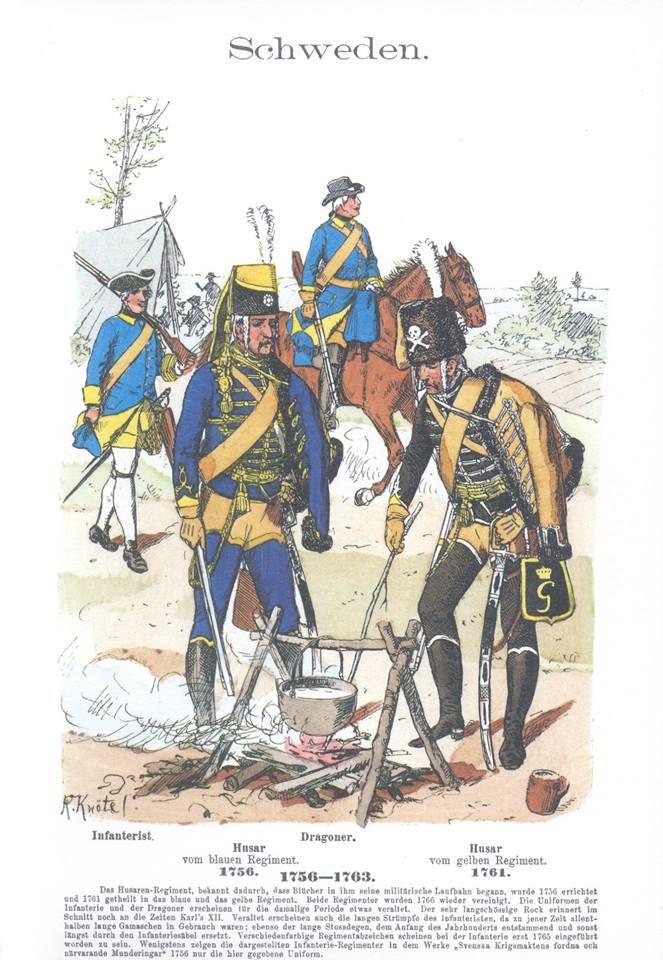 Band IV #59.- Schweden. Schwedische Truppen 1756-1863.