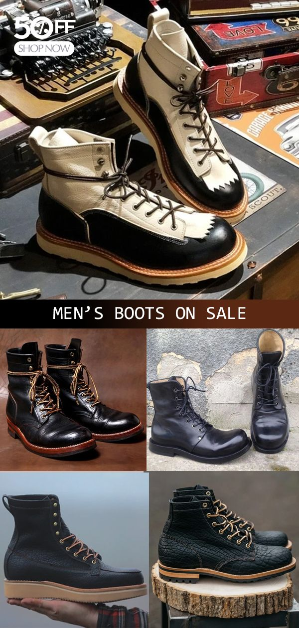 Photo of Casual men's boots hot now! New Arrivals>> Shop now>>