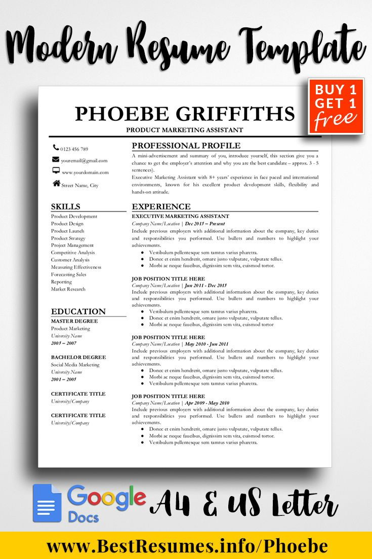 Include Photo In Resume Resume Template Phoebe Griffiths  Pinterest  Resume Template .