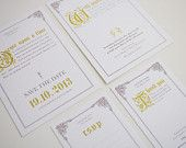 Fairy Tale - Once Upon a Time - Formal Wedding Invitation Suite   I think I love these.