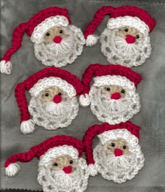 crochet CHUPONES Pinterest Navidad, Noel y Tejido - cosas de navidad