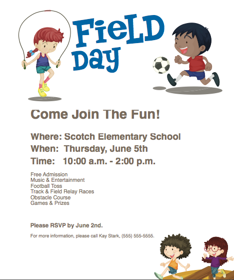 Pto Today Field Day Poster Field Day Pto Today Field Day Games