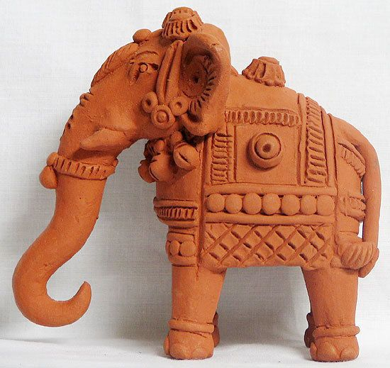 Elephant Terracotta Statues Art With Clay Amp Beauty Of
