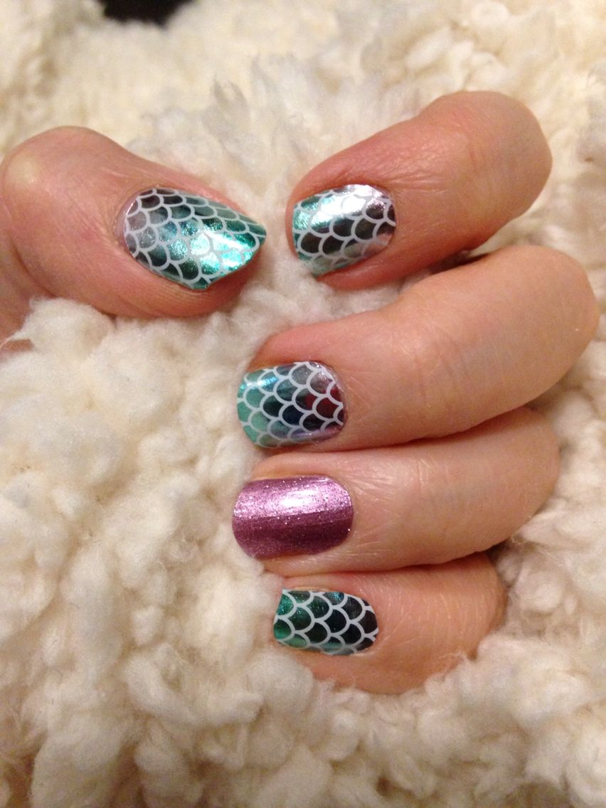 Jamberry Nails - Mermaid Tales and Pixie Christinevazz.jamberrynails ...