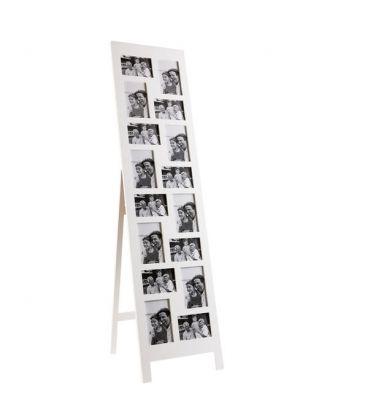 Marco vertical de madera para 16 fotos de diferentes tamaños, 8 ...