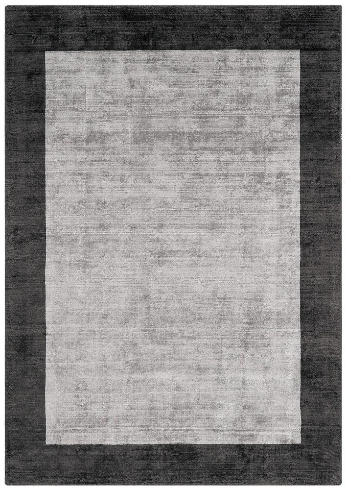 Details zu Teppich Wohnzimmer Carpet hochflor Design BLADE BORDER - Teppich Wohnzimmer Braun
