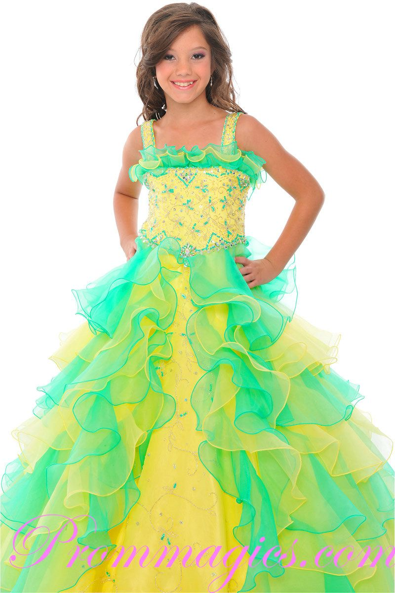 little girls pageant dresses | prom dresses little girl prom ...