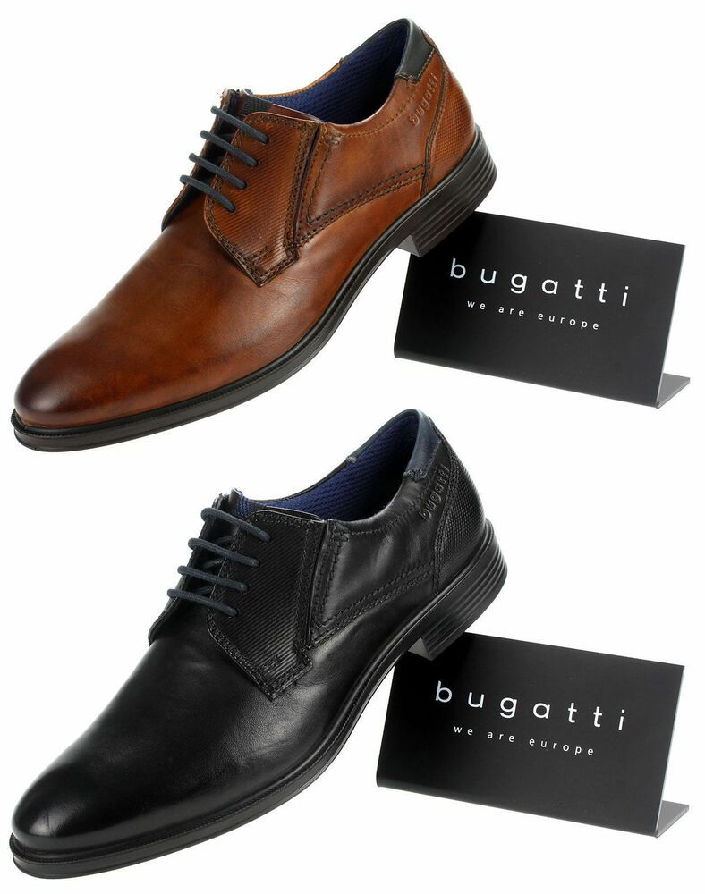 ce28d18a82 #Bugatti Herren Derby Schnürer #Leder Männer #Business #Schuhe #Schwarz # Braun