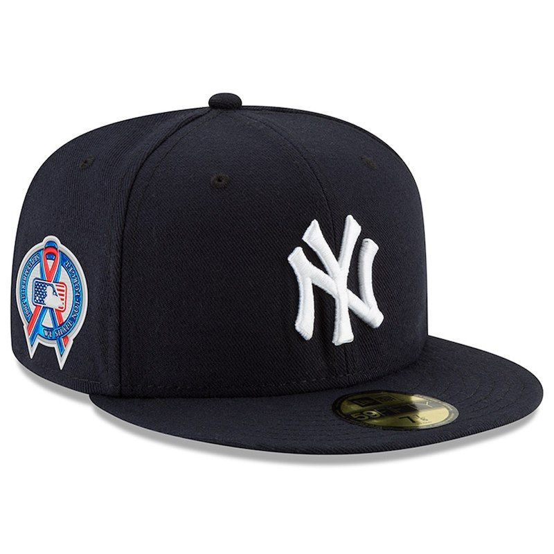 New Era 59fifty new York Yankees Fitted Hat All Royal Blue//White NY