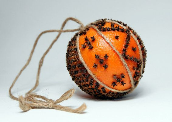 orange-clove ornament