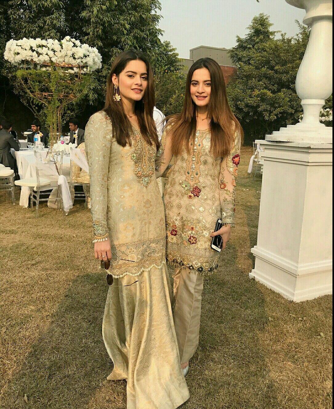 Aiman And Minal Khan Dress Aiman Khan Pakistani Dresses Pakistani