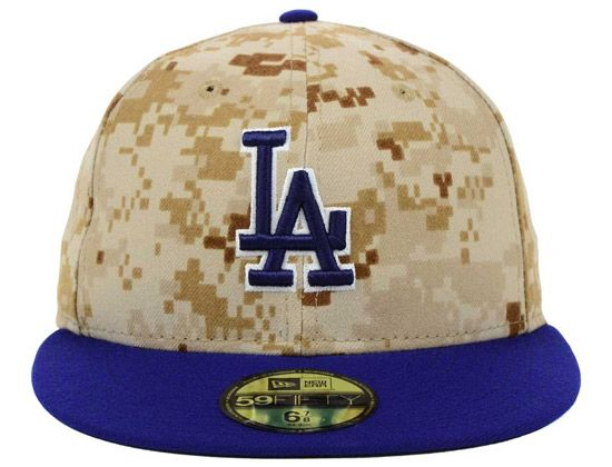165ad1f30be1a5 Dodgers 2014 Memorial Day Stars and Stripes 59Fifty Cap by MLB x NEW ERA