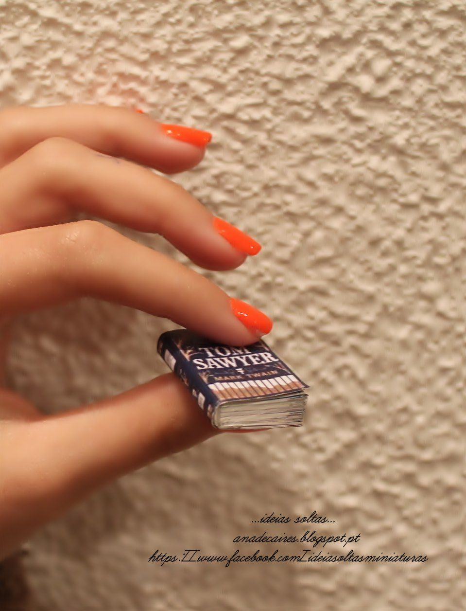 Mini Livros <3 https://www.facebook.com/ideiasoltasminiaturas http://anadecaires.blogspot.pt/