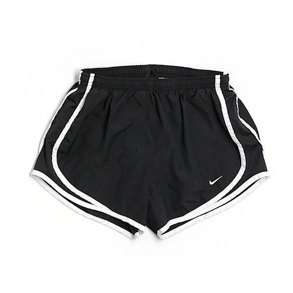 Pre-owned Nike Athletic Shorts Size 4: Black Women's Activewear ($15) ❤  liked on Polyvore featuring act… | Nike athletic shorts, Athletic shorts,  Active wear shorts