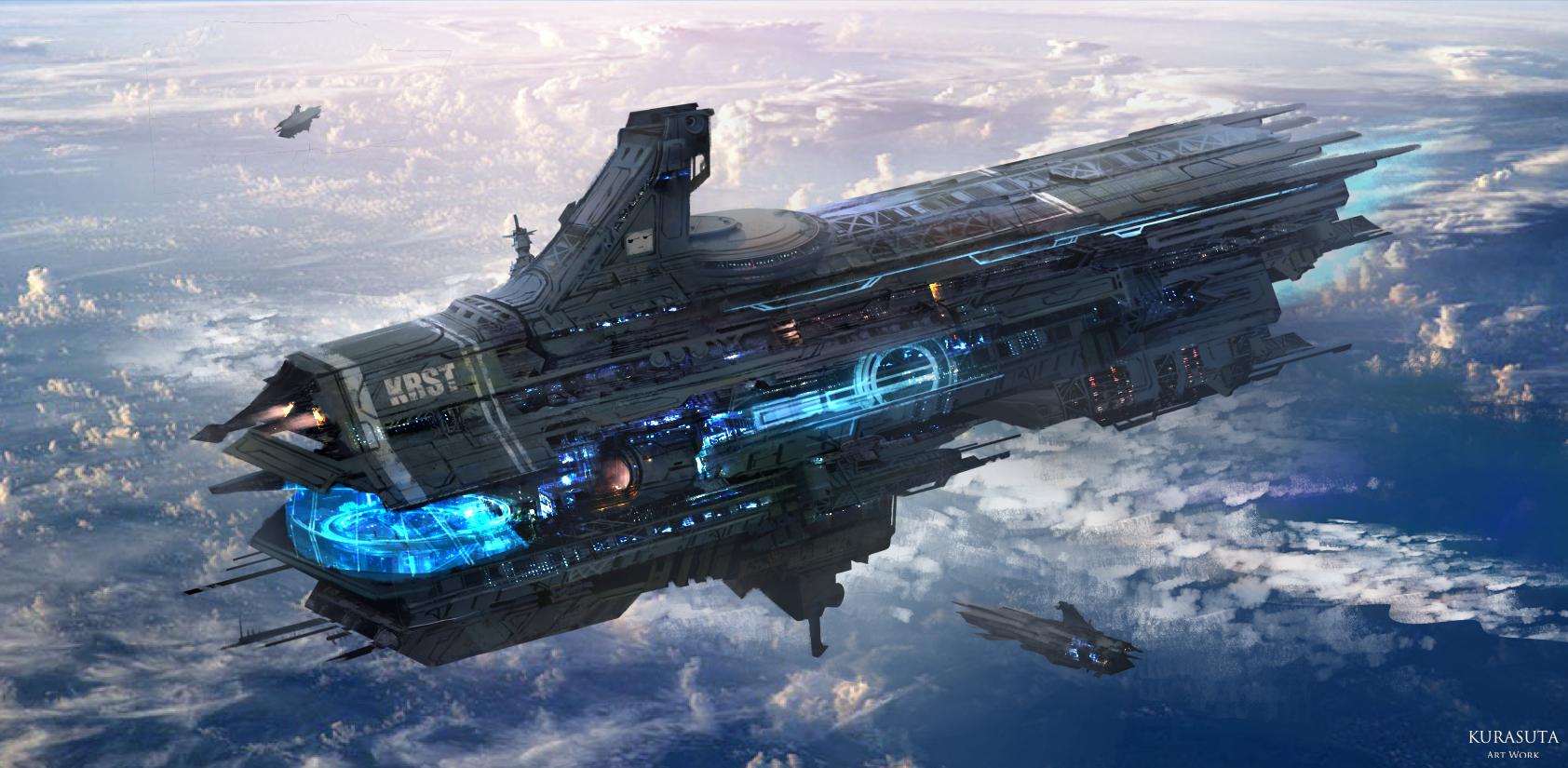 его знают фото космических кораблей из фантастики помощью подоспевших рыболовных