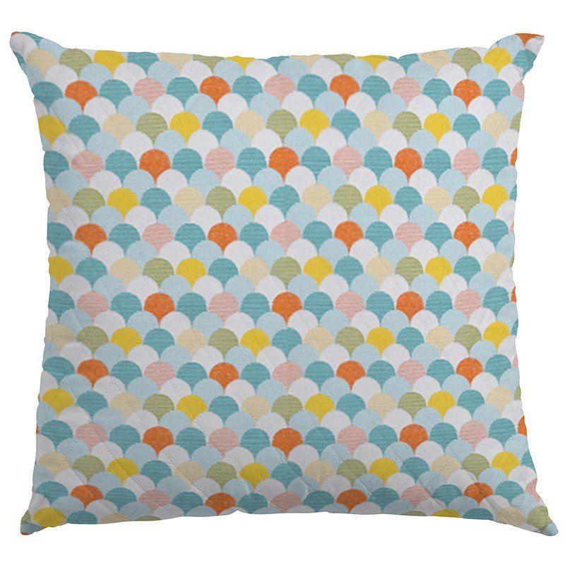 f809c2edffc0 Tela Tapicería Abanicos Multicolor. Loneta para tapizar con abanicos de  color verde agua, naranja y blanco. Lona de gran calidad, opaca y gruesa,  ...