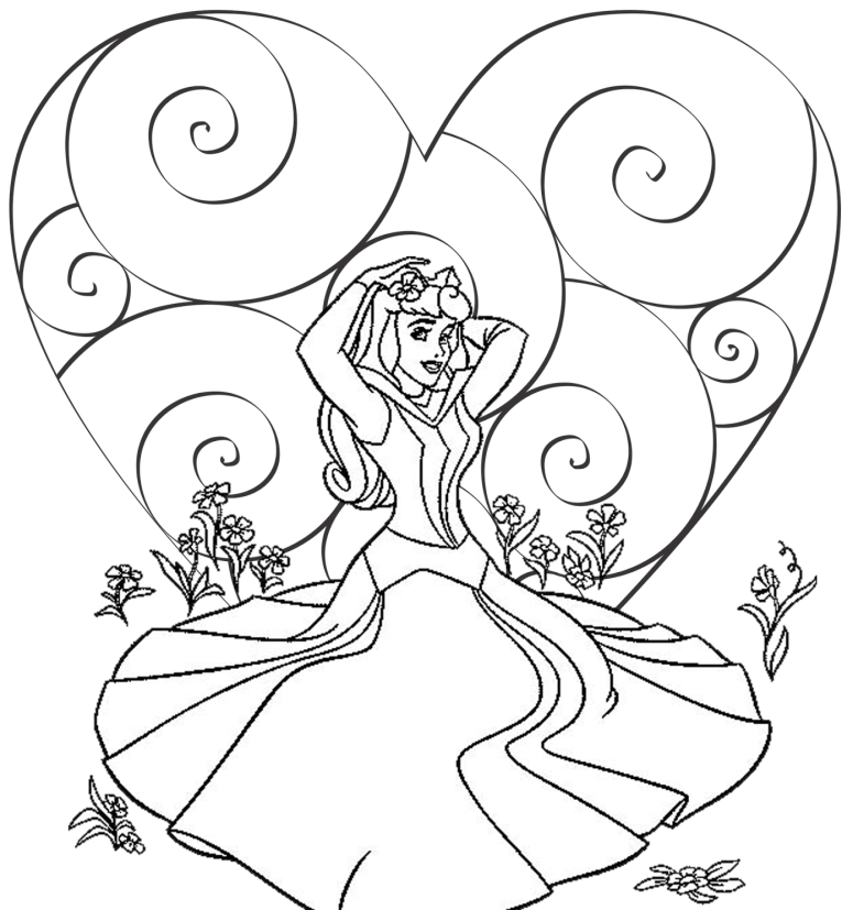 Disney Coloring Pages Coloring Pages Free Printable Disney Coloring Pages Valentines Day Coloring Page Disney Princess Coloring Pages Valentine Coloring Pages