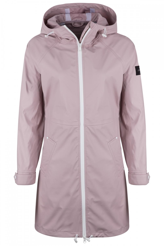 Ecoalf Damen Regenmantel Picton Dusty Pink Sailerstyle In 2020 Regenmantel Altrosa Damen Regenmantel
