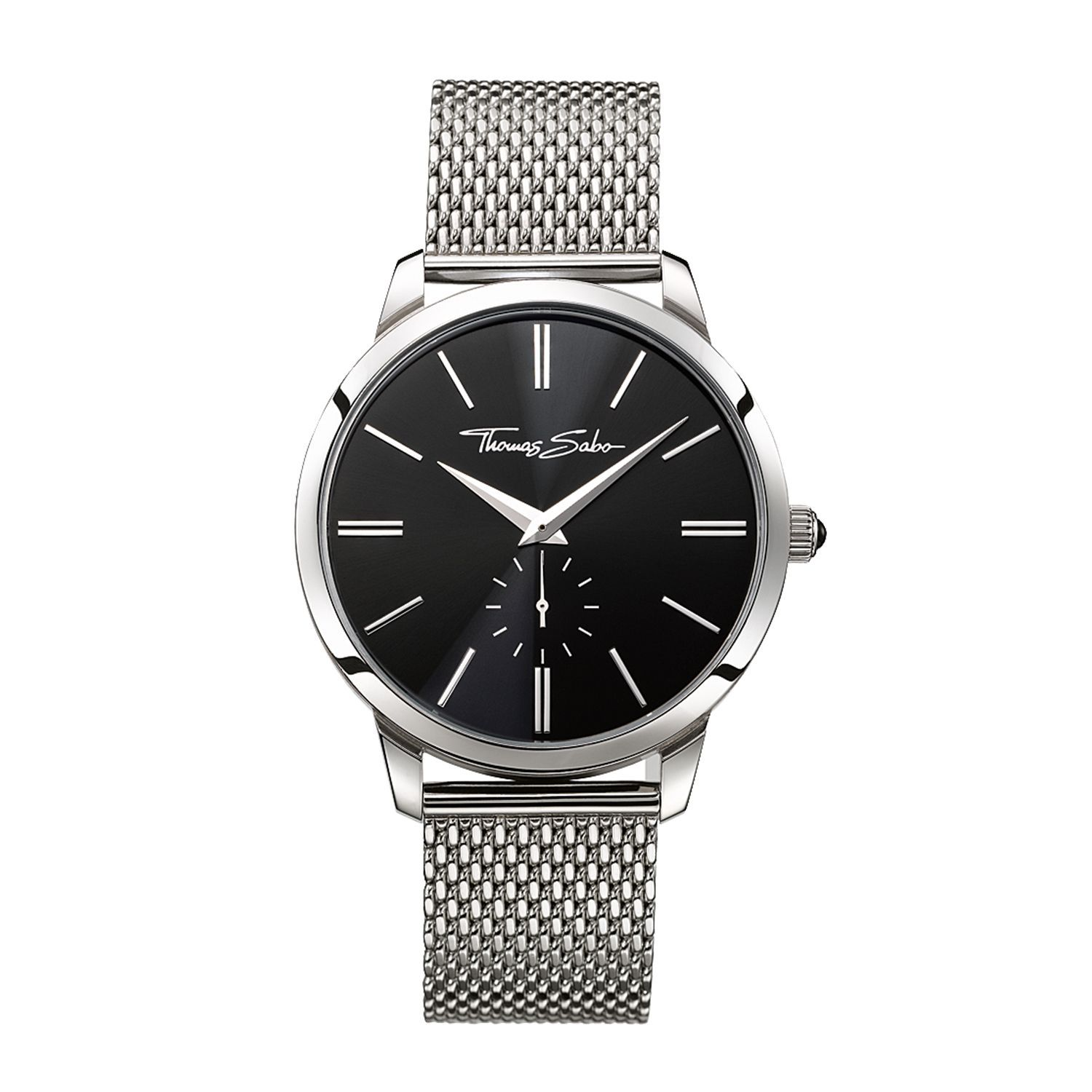 This Gents Thomas Sabo Eternal Rebel Watch Is Made From Stainless Steel And  Is Powered By A Quartz Movement It Is Fastened With A Silver Metal Bracelet