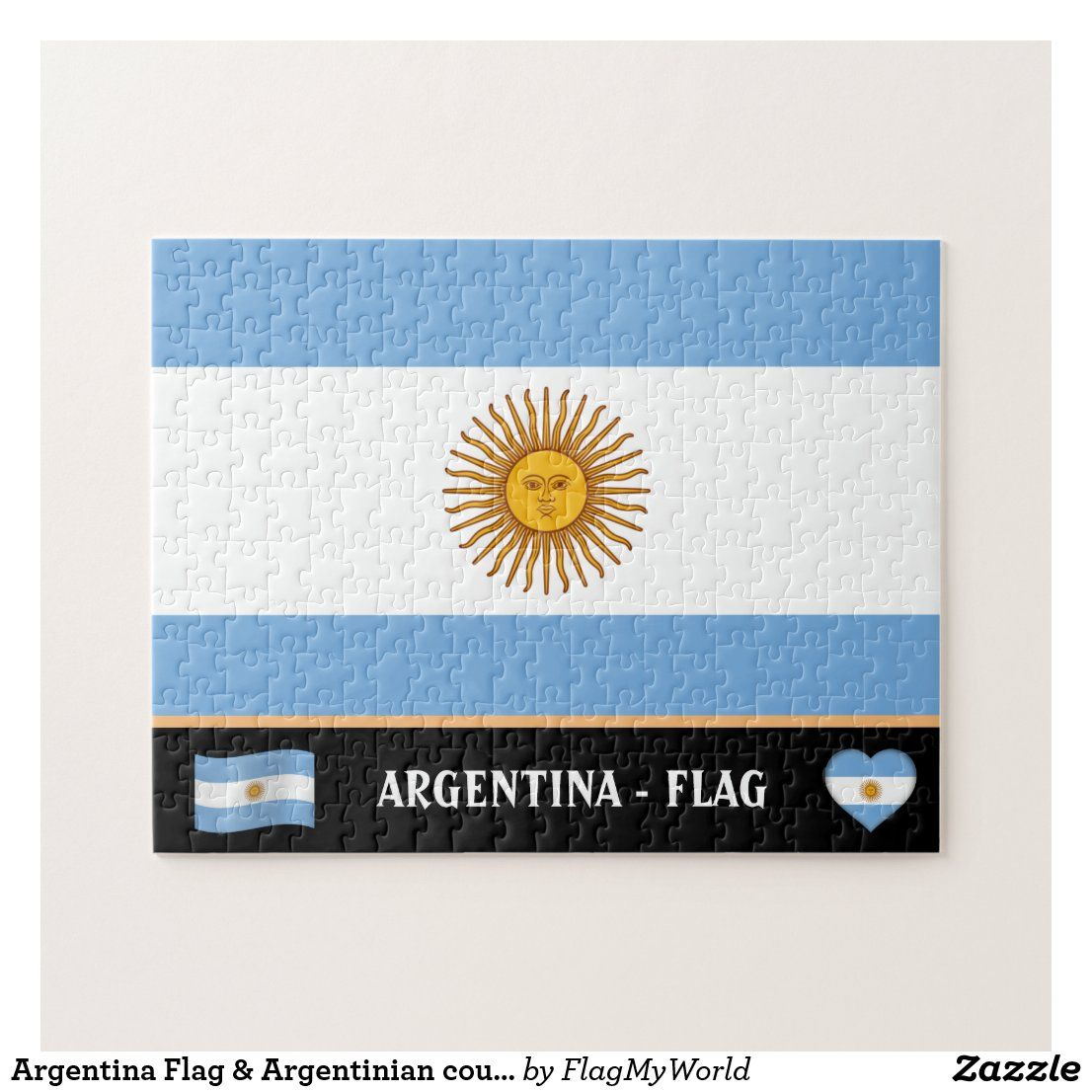 Argentina Flag Argentinian Country Argentina Jigsaw Puzzle In 2020 Argentina Flag Jigsaw Puzzles Flag