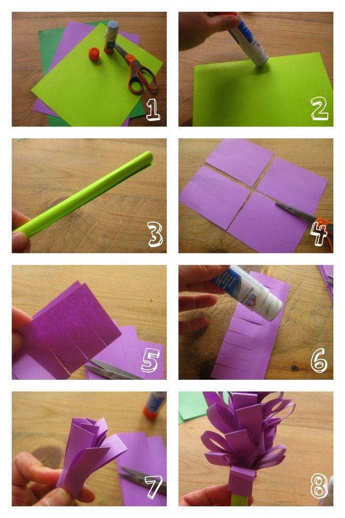 recycler un plateau ikea fleurs pinterest bricolage enfant fleurs en papier et fleur. Black Bedroom Furniture Sets. Home Design Ideas