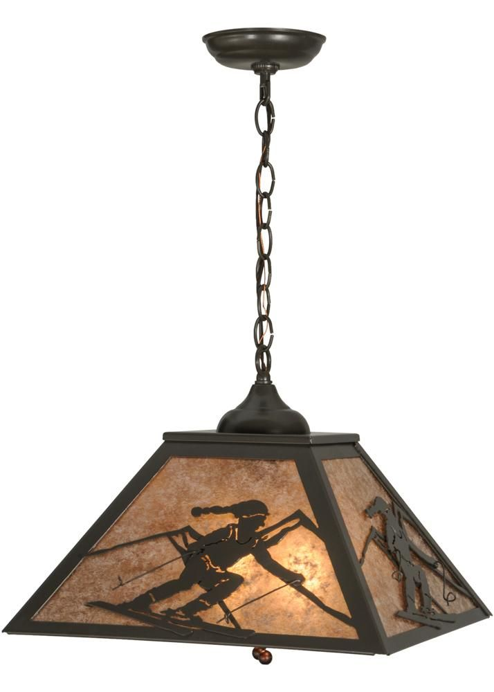 Meyda 74104 - 16 Sq Alpine Pendant Light  sc 1 st  Pinterest & Meyda 74104 - 16