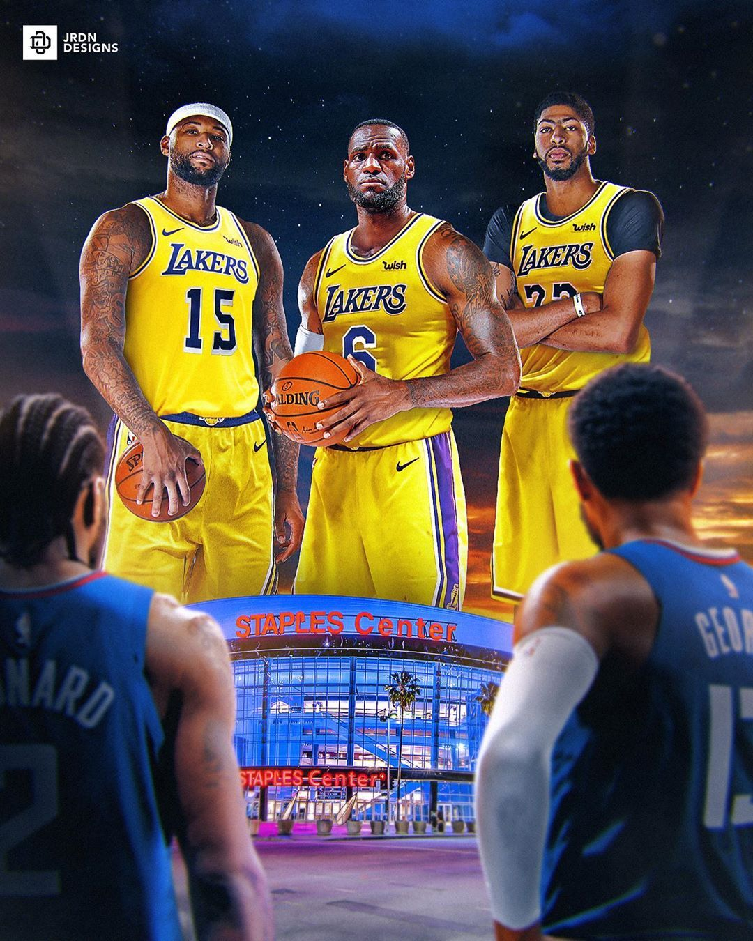 Sports Designs By Jordan Fb On Instagram The Battle Of La Who S The Best Team Of La Laker Lebron James Lakers Team Usa Basketball Basketball Players Nba