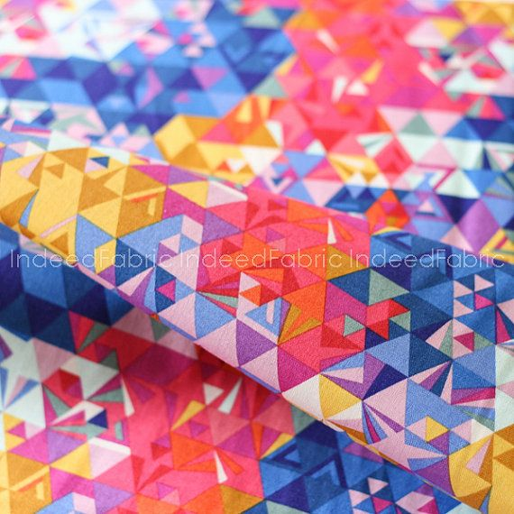 Geometry Sunset, Ex Libris Collection, Alison Glass, Quilting ... : quilt weight cotton - Adamdwight.com