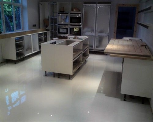 Seamless Poured Resin Flooring Residential Installation Gosforth