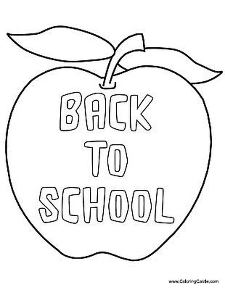 Discover 11 Places To Find Free Back To School Coloring Pages School Coloring Pages Kindergarten Coloring Pages Printable Coloring Pages