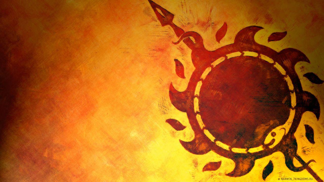 Wallpaper House Martell Juego De Tronos Game Of Thrones Wallpaper Cancion De Hielo Y Fuego