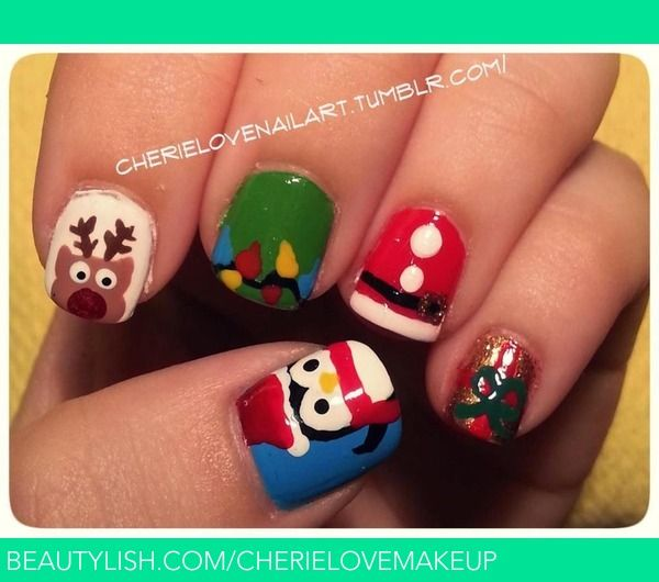 Beauty Video By Cutepolish X Nail Art For Christmas The Ultimate Guide Looking Cute And Easy Diy Design Tutorials Holidays