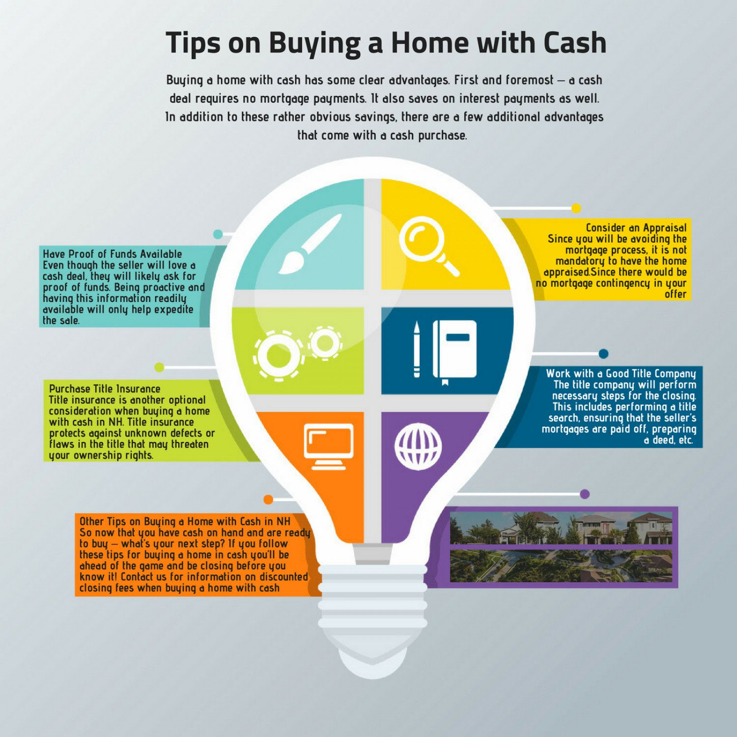 Buying A Home With Cash Has Some Clear Advantages First And