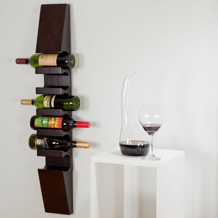 range bouteille pour cuisine et meuble suspendu - Porte Bouteille Cuisine