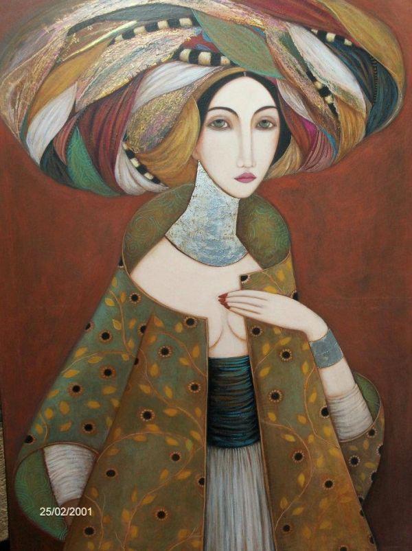 Faiza Maghni - Pictify - your social art network | Caras | Art ...