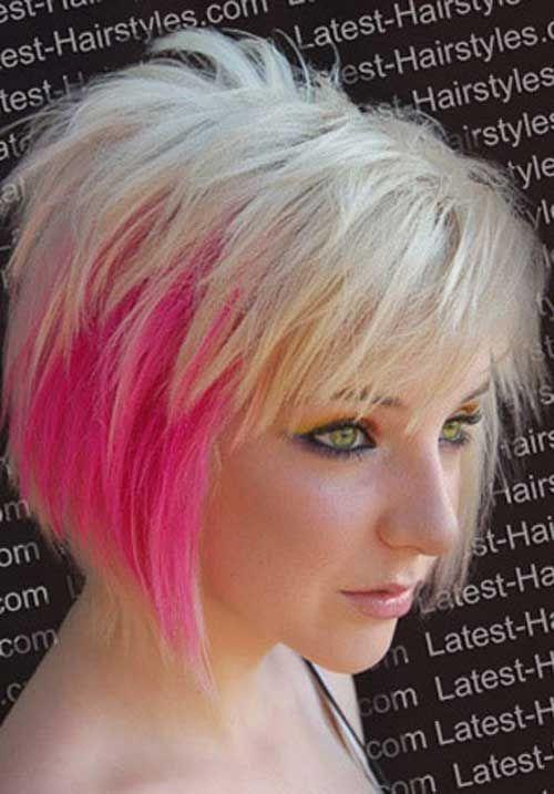 30 Hair Color Ideas For Short Hair Pinterest Short Haircuts