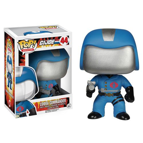 G.I. Joe Cobra Commander Pop! Vinyl Figure - Funko - G.I. Joe - Pop! Vinyl Figures at Entertainment Earth