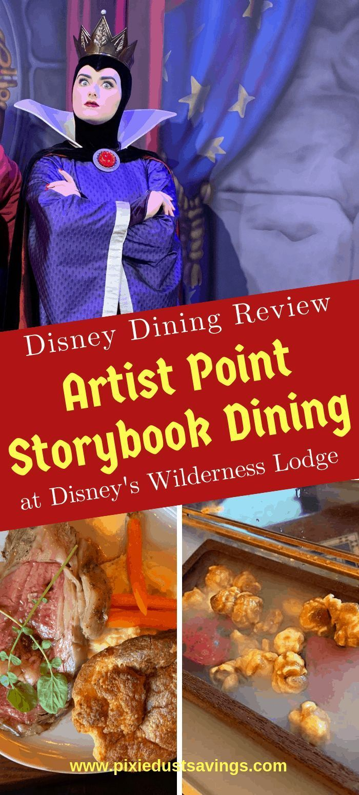 Artist Point Storybook Character Dining Review Disney