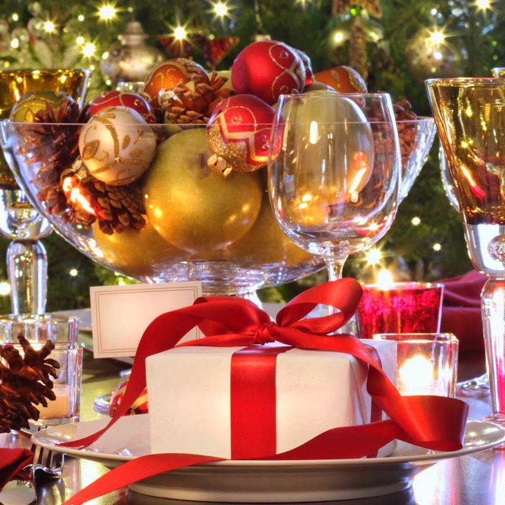 Elegant christmas table decorations idea - Elegant Christmas Table Decorations Idea 11